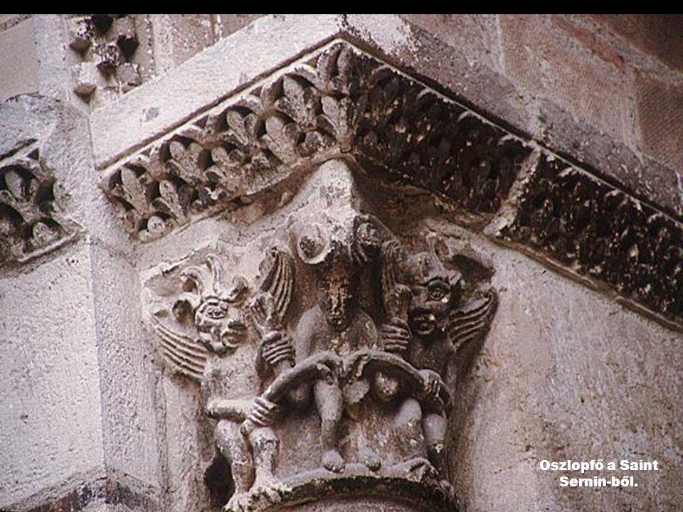 Oszlopfő a Saint Sernin-ből.