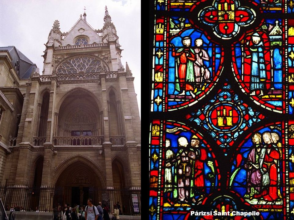 Párizsi Saint Chapelle
