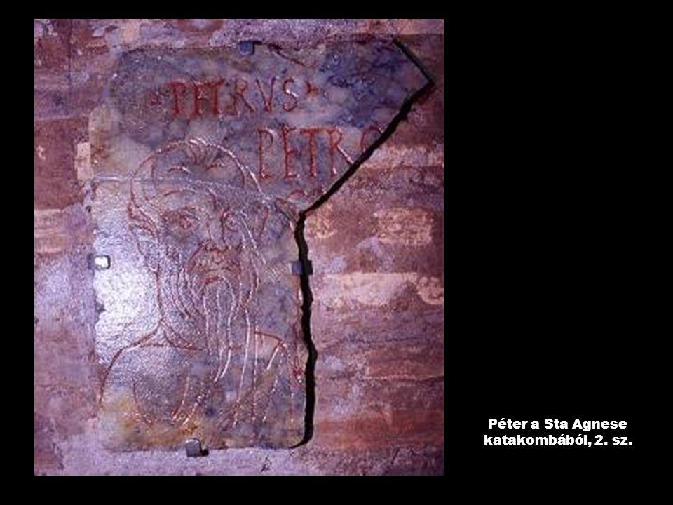 Péter a Sta Agnese katakombából, 2. sz.
