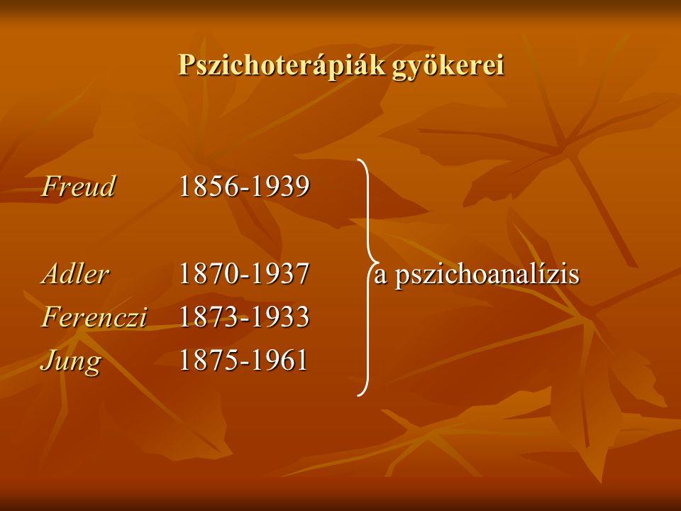 Pszichoterápiák gyökerei