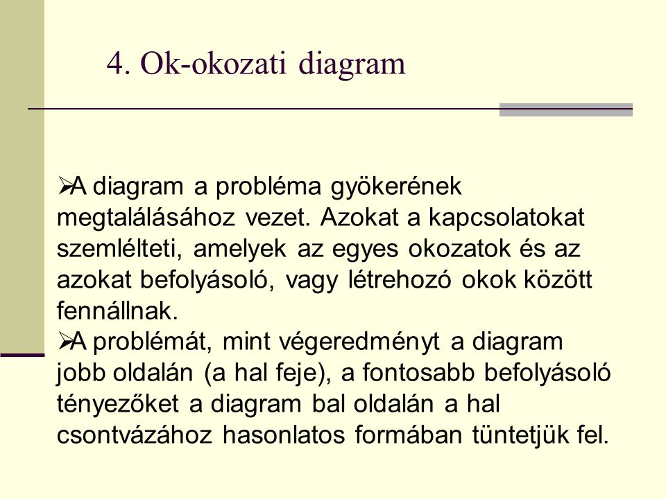 4. Ok-okozati diagram