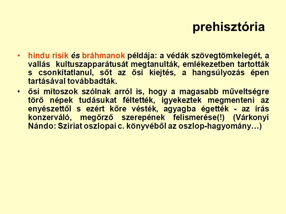 prehisztória