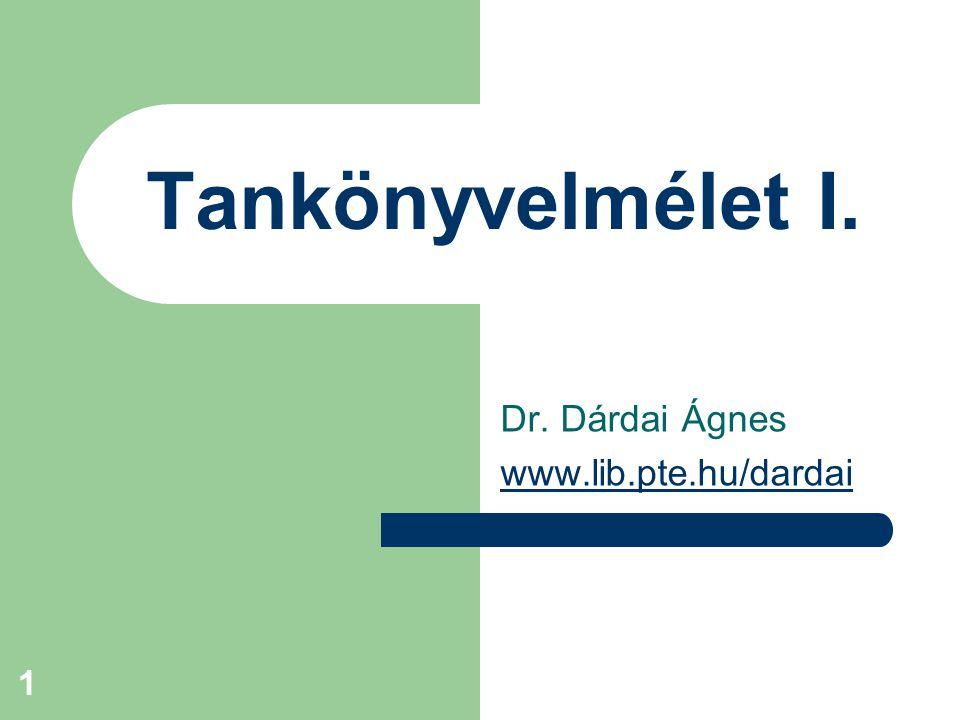 Dr. Dárdai Ágnes www.lib.pte.hu/dardai