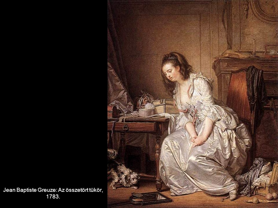 Jean Baptiste Greuze: Az összetört tükör, 1783.