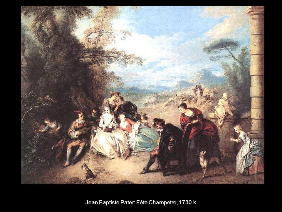 Jean Baptiste Pater: Fête Champetre, 1730.k.
