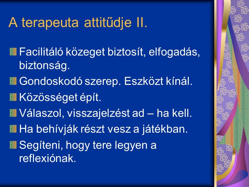 A terapeuta attitűdje II.