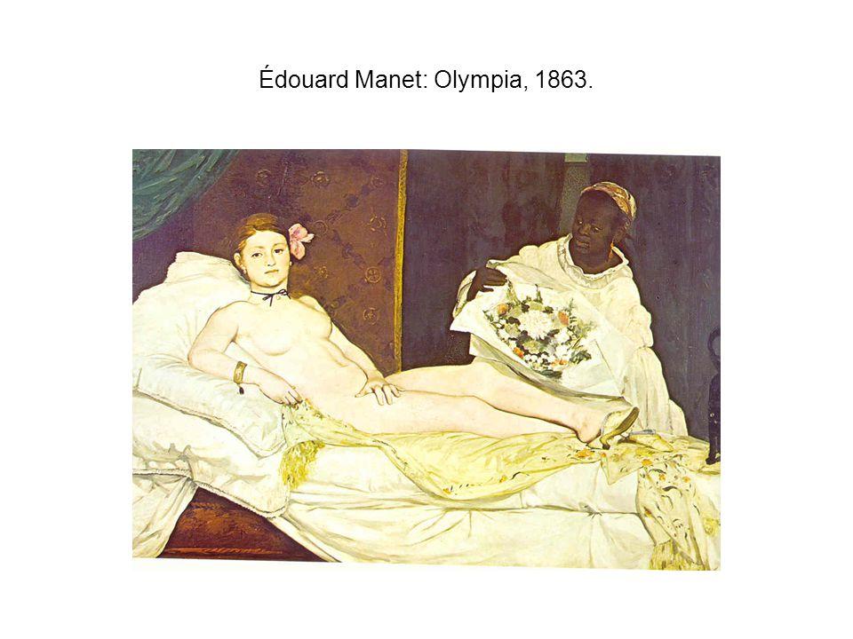 Édouard Manet: Olympia, 1863.