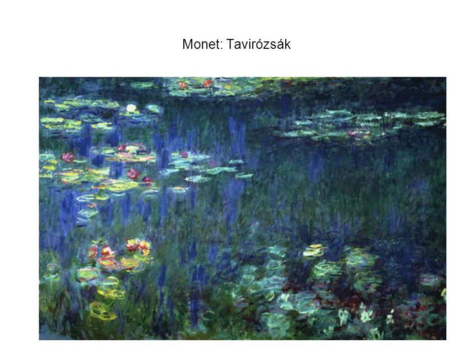 Monet: Tavirózsák