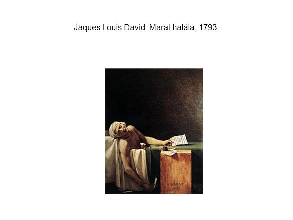 Jaques Louis David: Marat halála, 1793.