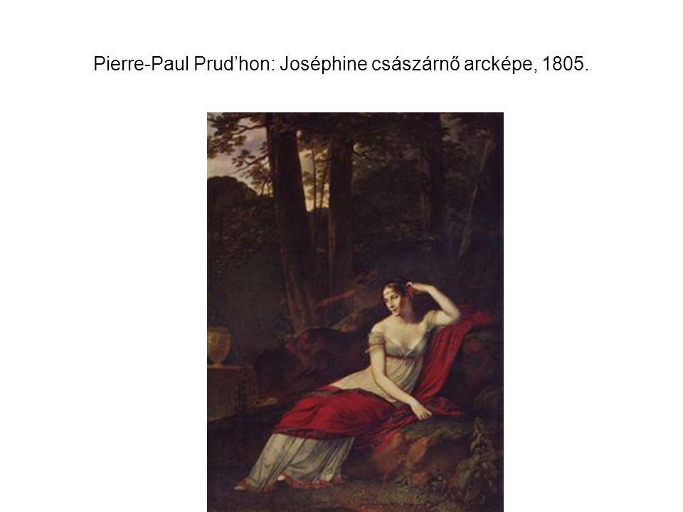 Pierre-Paul Prud'hon: Joséphine császárnő arcképe, 1805.