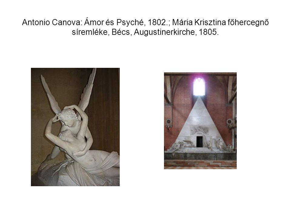Antonio Canova: Ámor és Psyché, 1802