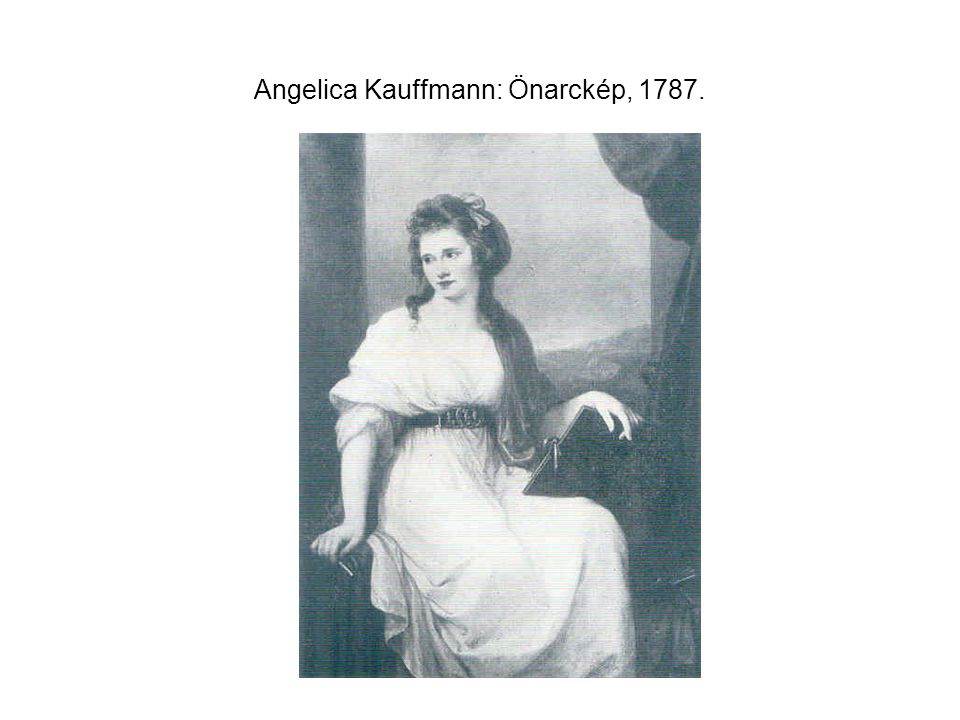 Angelica Kauffmann: Önarckép, 1787.