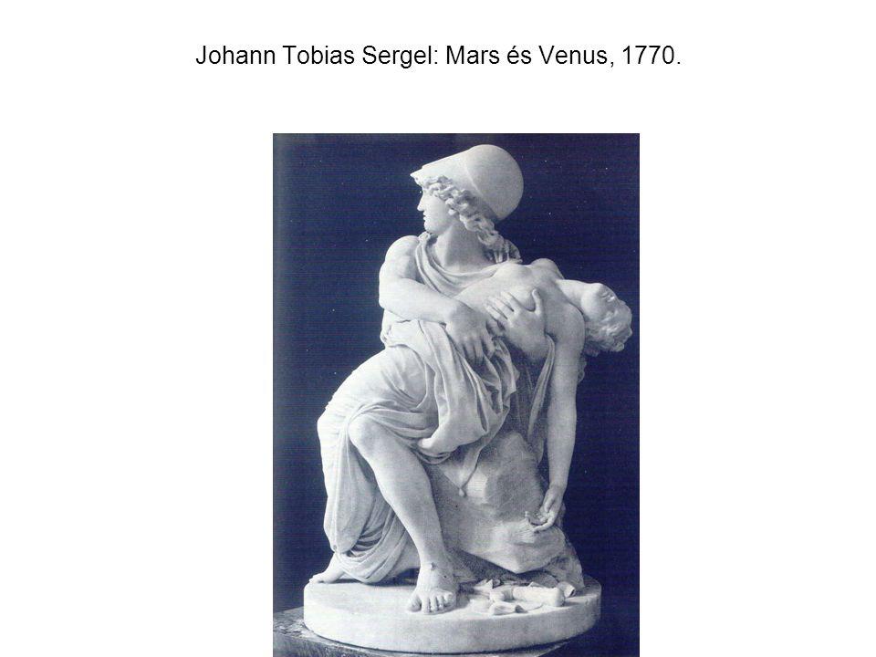 Johann Tobias Sergel: Mars és Venus, 1770.