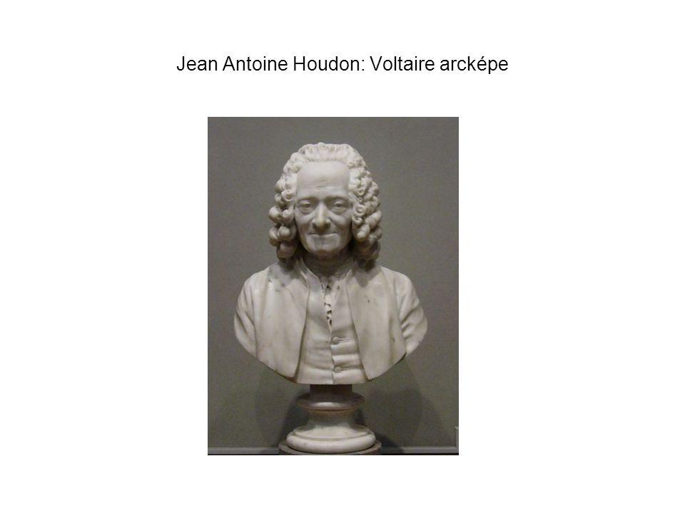 Jean Antoine Houdon: Voltaire arcképe