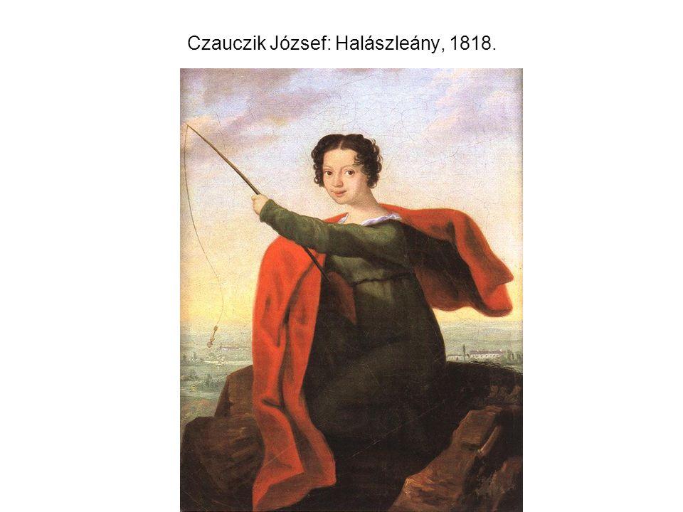 Czauczik József: Halászleány, 1818.