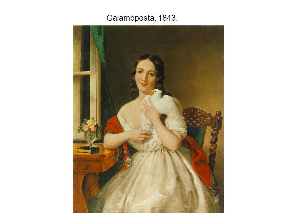 Galambposta, 1843.
