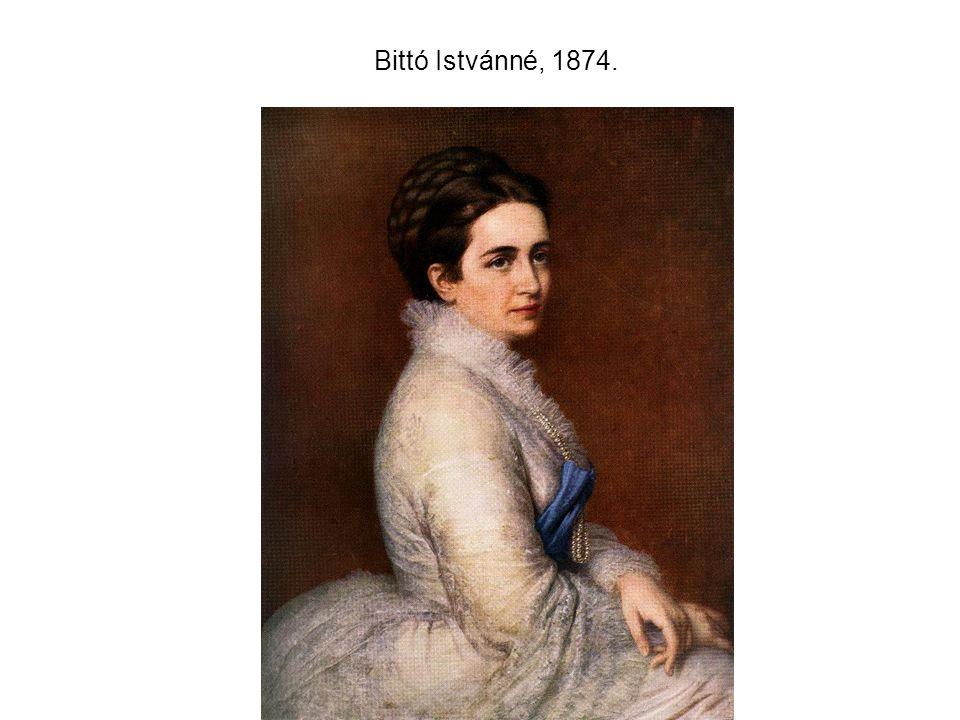 Bittó Istvánné, 1874.