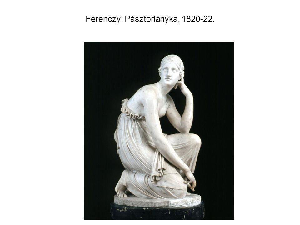 Ferenczy: Pásztorlányka, 1820-22.