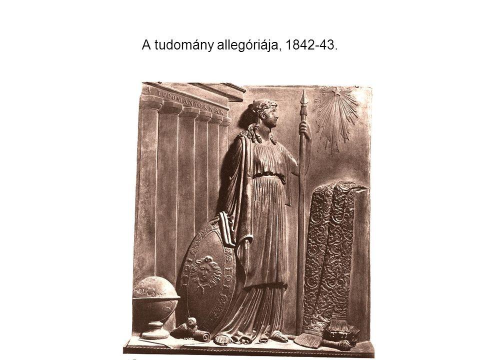 A tudomány allegóriája, 1842-43.