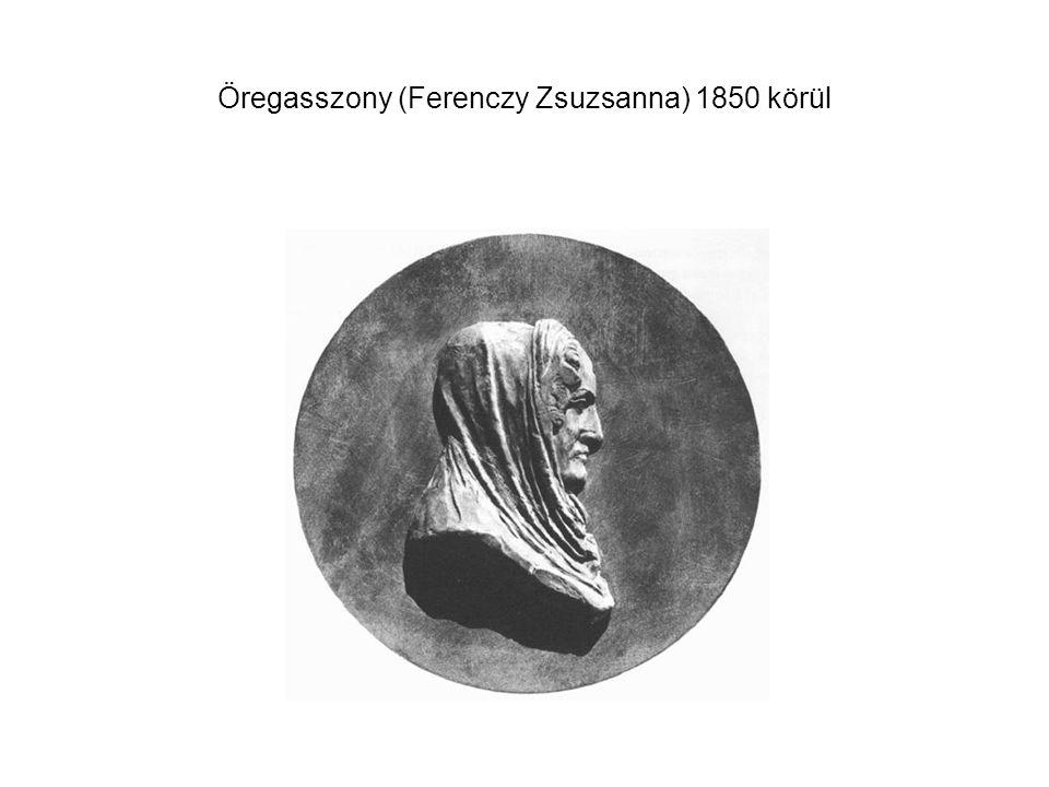 Öregasszony (Ferenczy Zsuzsanna) 1850 körül