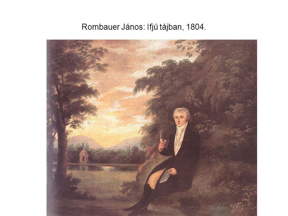 Rombauer János: Ifjú tájban, 1804.