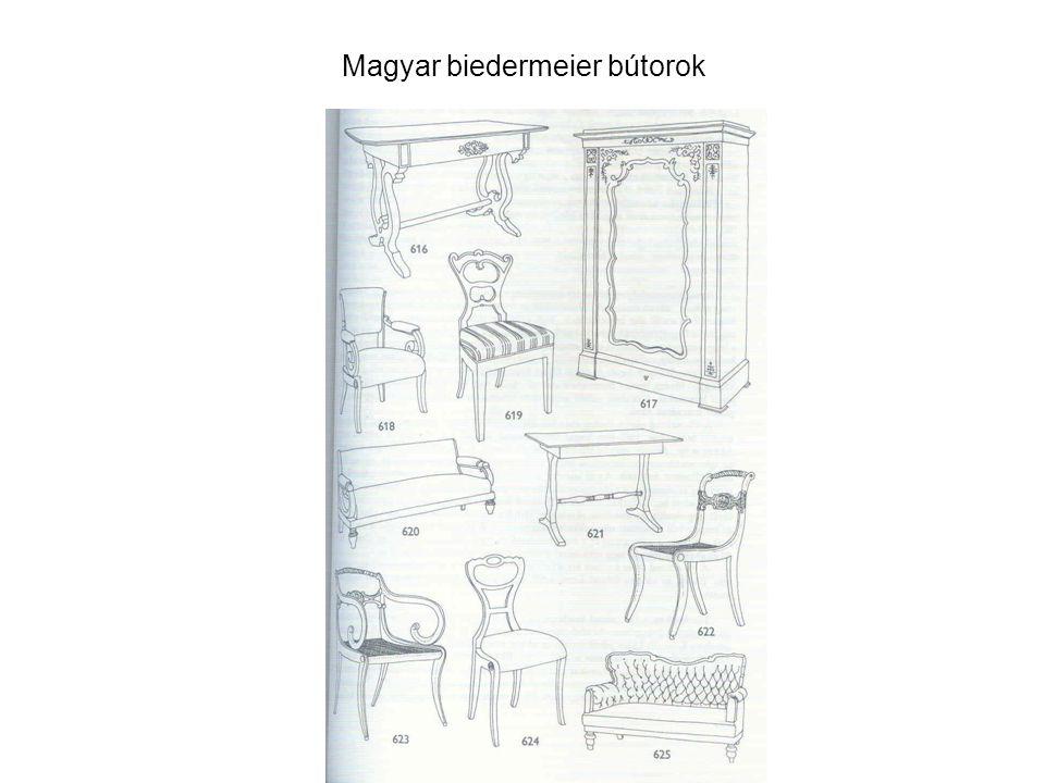 Magyar biedermeier bútorok