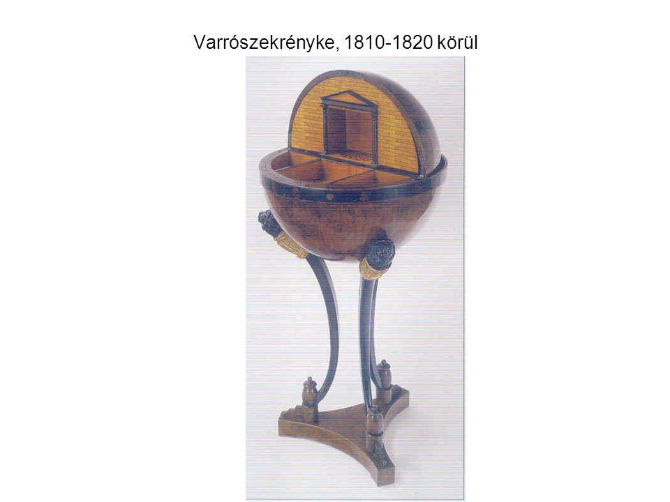 Varrószekrényke, 1810-1820 körül