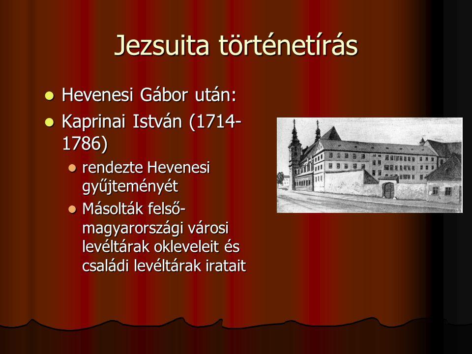 Jezsuita történetírás