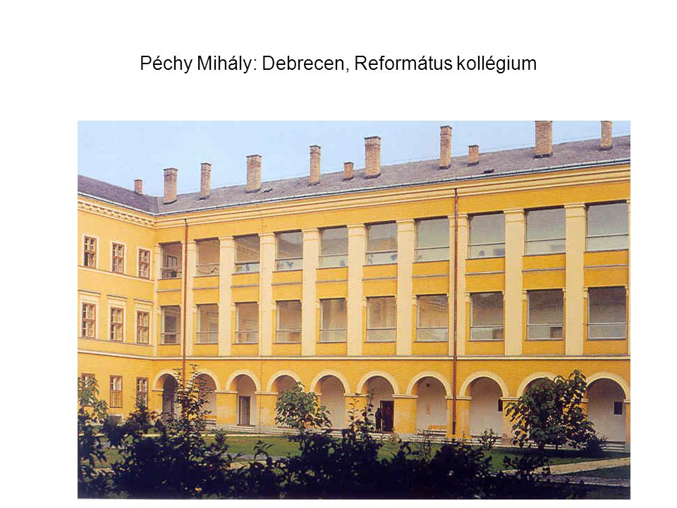 Péchy Mihály: Debrecen, Református kollégium