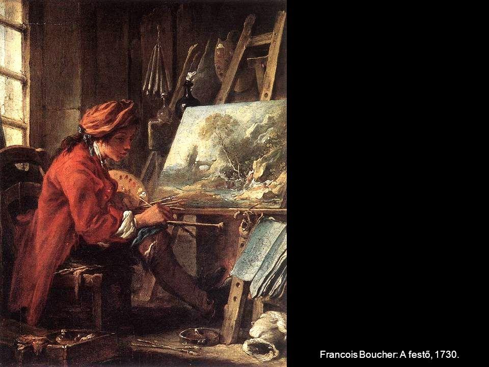 Francois Boucher: A festő, 1730.