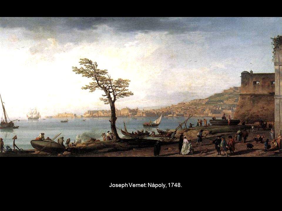 Joseph Vernet: Nápoly, 1748.