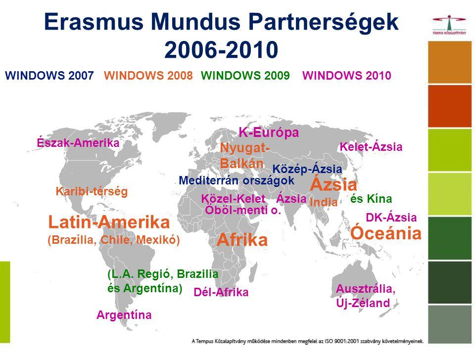 Erasmus Mundus Partnerségek 2006-2010