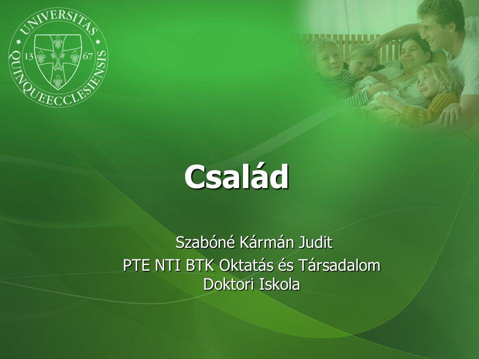 Szabóné Kármán Judit PTE NTI BTK Oktatás és Társadalom Doktori Iskola