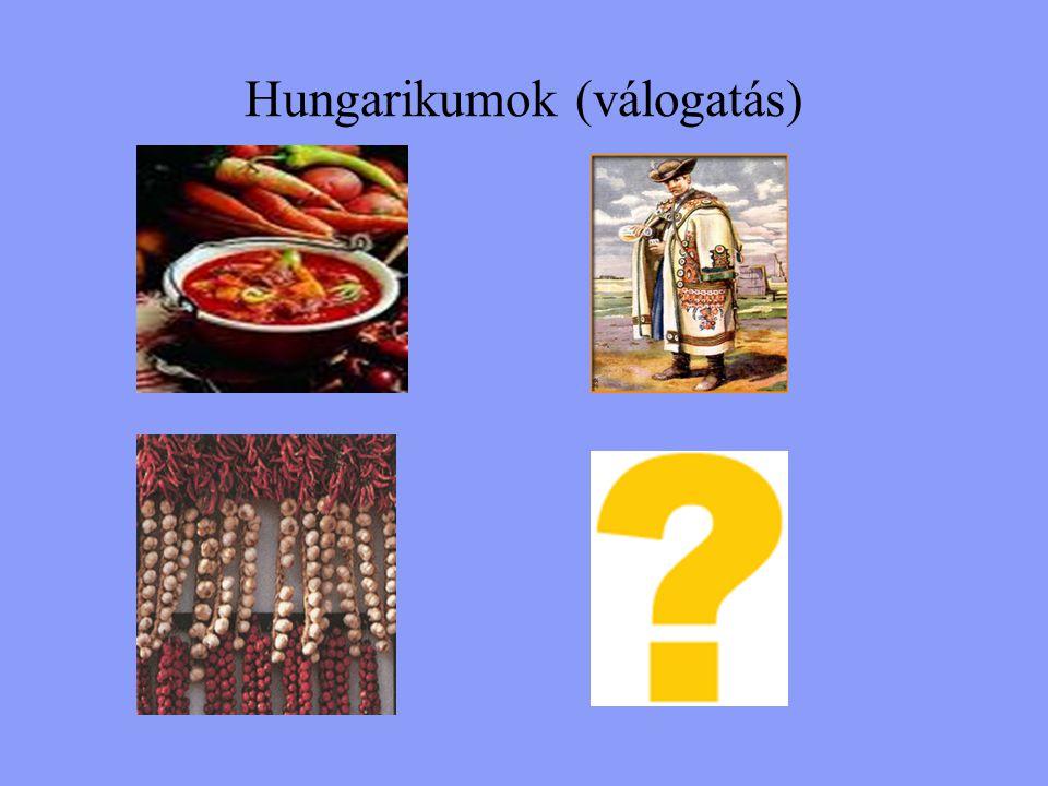 Hungarikumok (válogatás)