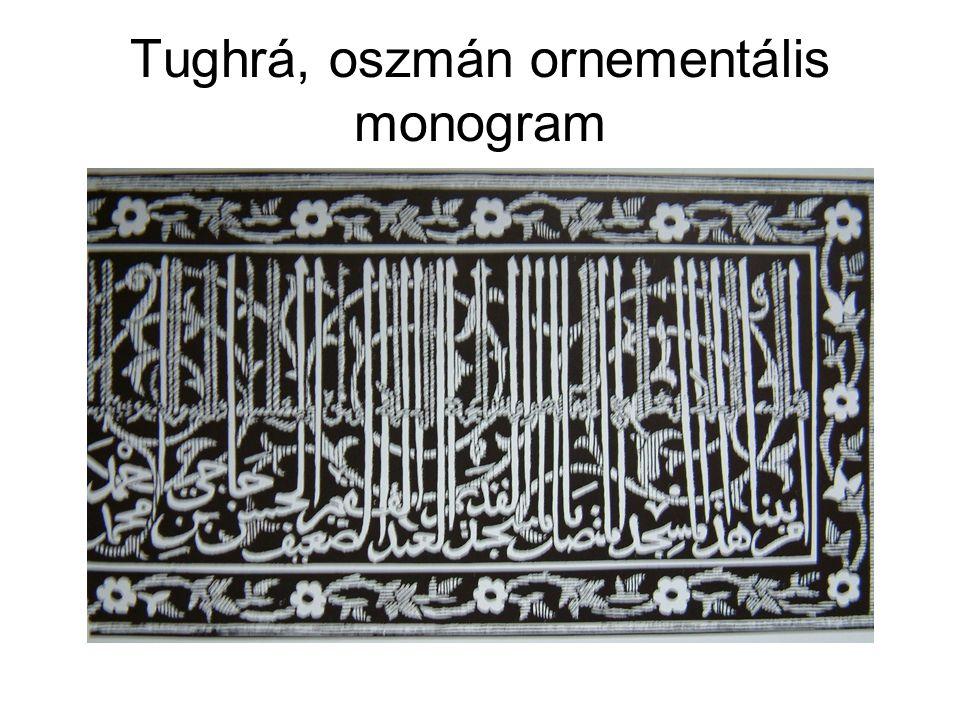 Tughrá, oszmán ornementális monogram