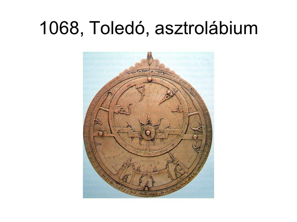 1068, Toledó, asztrolábium