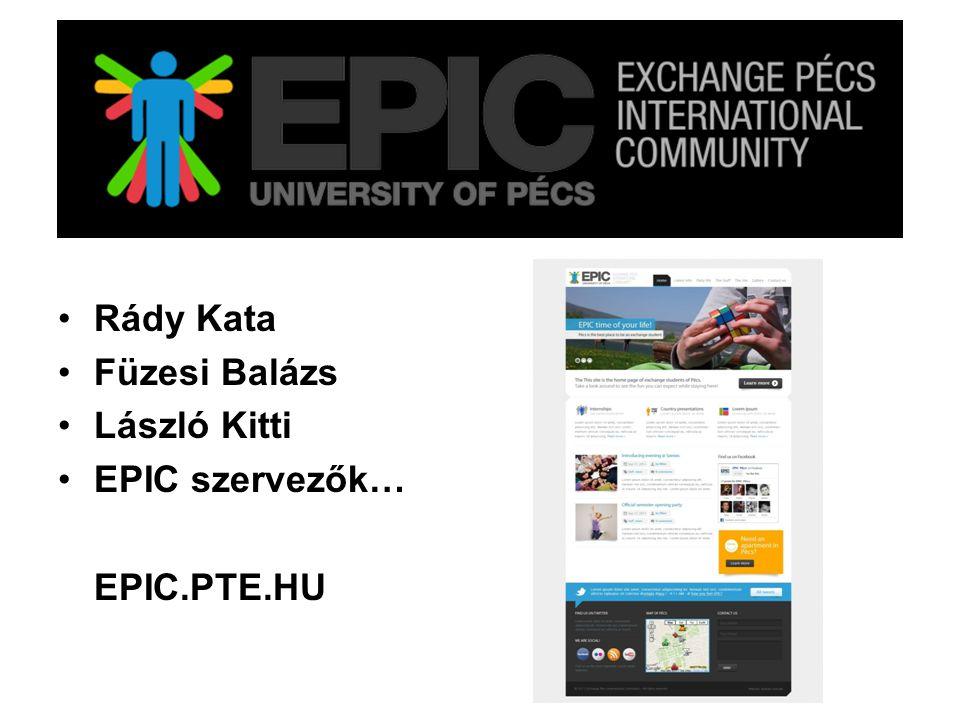 EPIC Exchange Pécs International Community