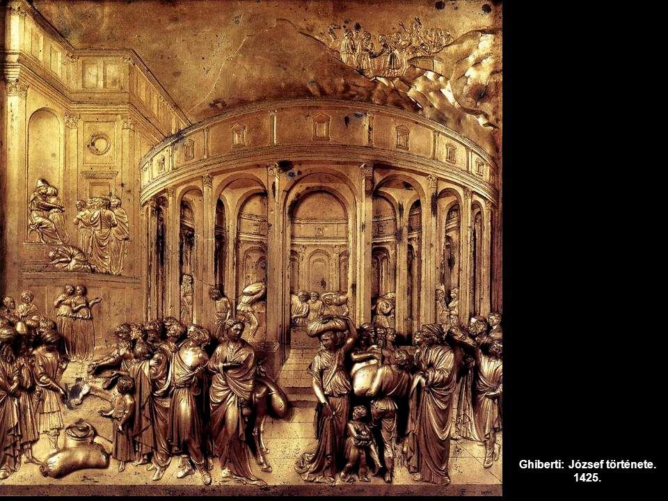 Ghiberti: József története. 1425.
