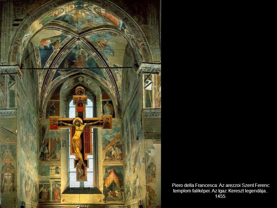 Piero della Francesca: Az arezzoi Szent Ferenc templom faliképei