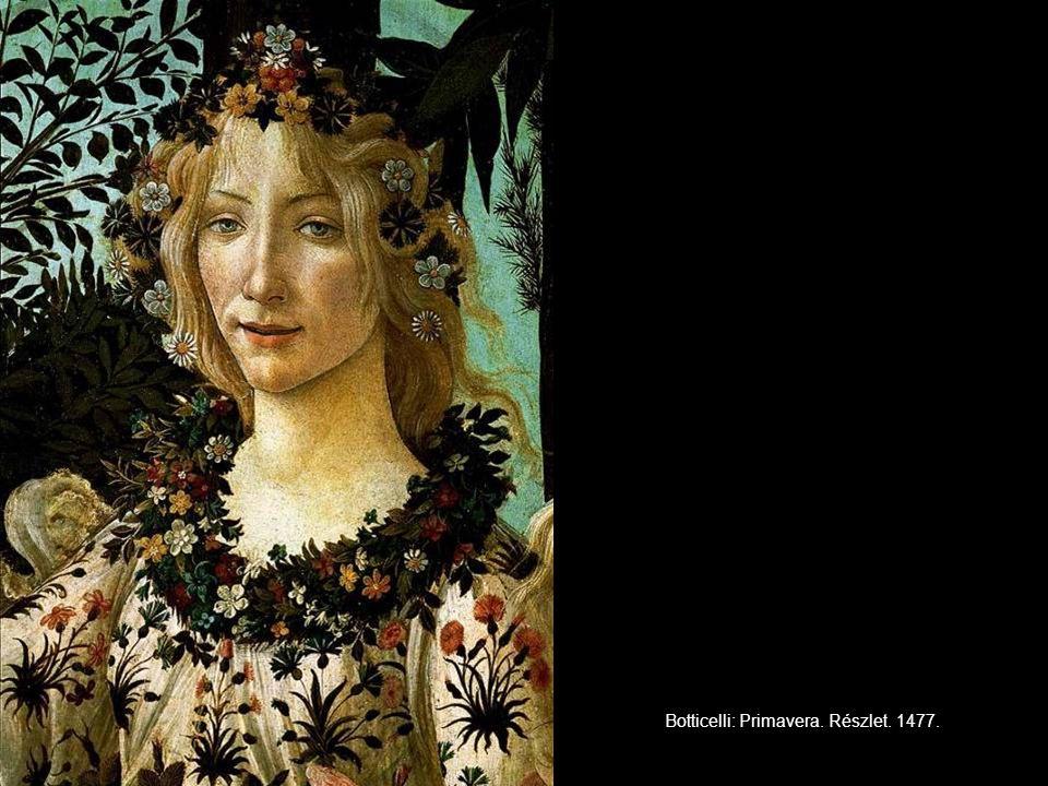 Botticelli: Primavera. Részlet. 1477.