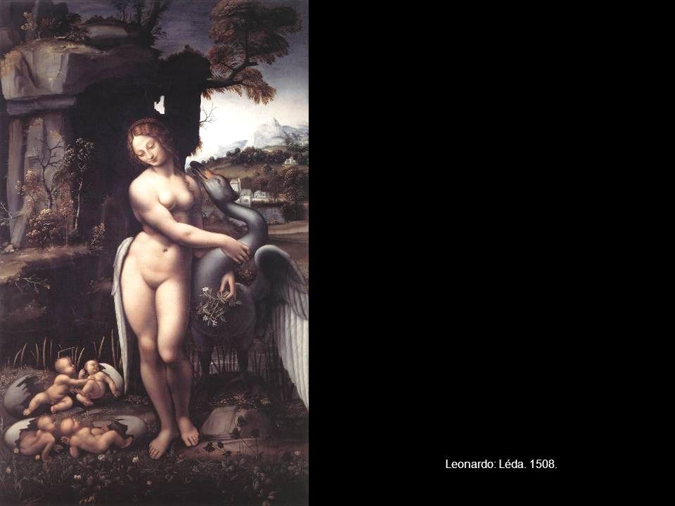 Leonardo: Léda. 1508.