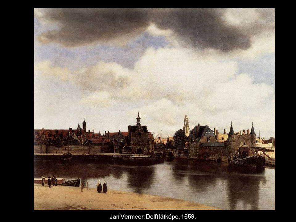 Jan Vermeer: Delft látképe, 1659.