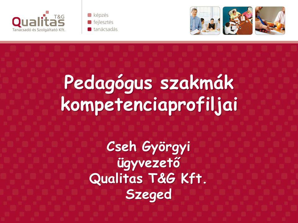 Pedagógus szakmák kompetenciaprofiljai