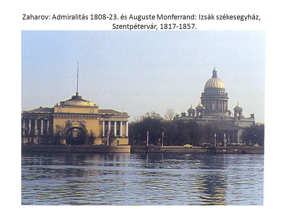 Zaharov: Admiralitás 1808-23