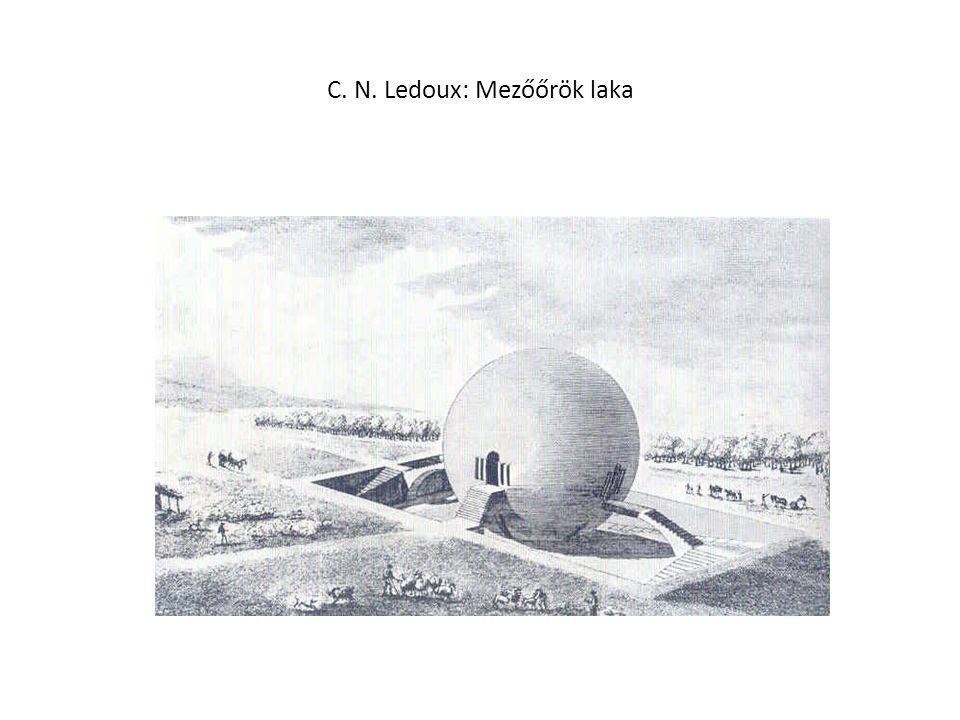 C. N. Ledoux: Mezőőrök laka