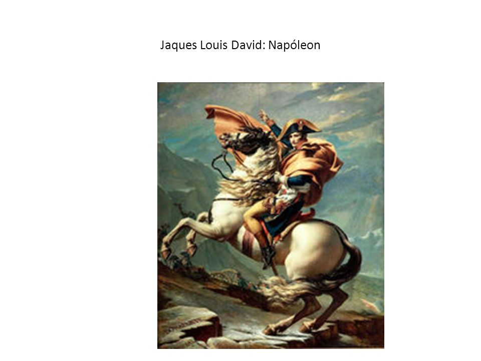 Jaques Louis David: Napóleon