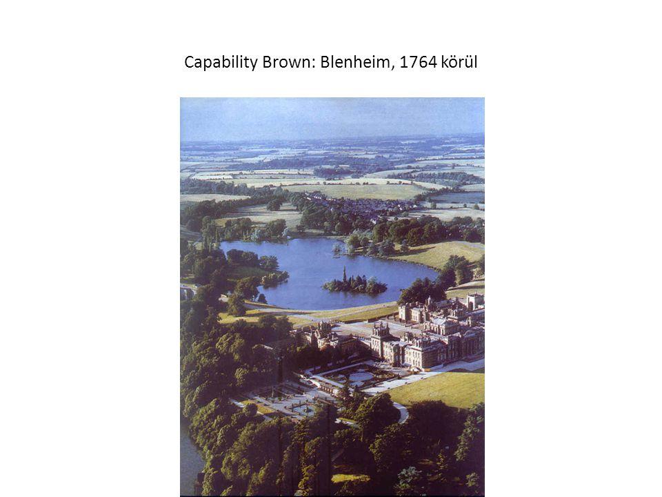 Capability Brown: Blenheim, 1764 körül