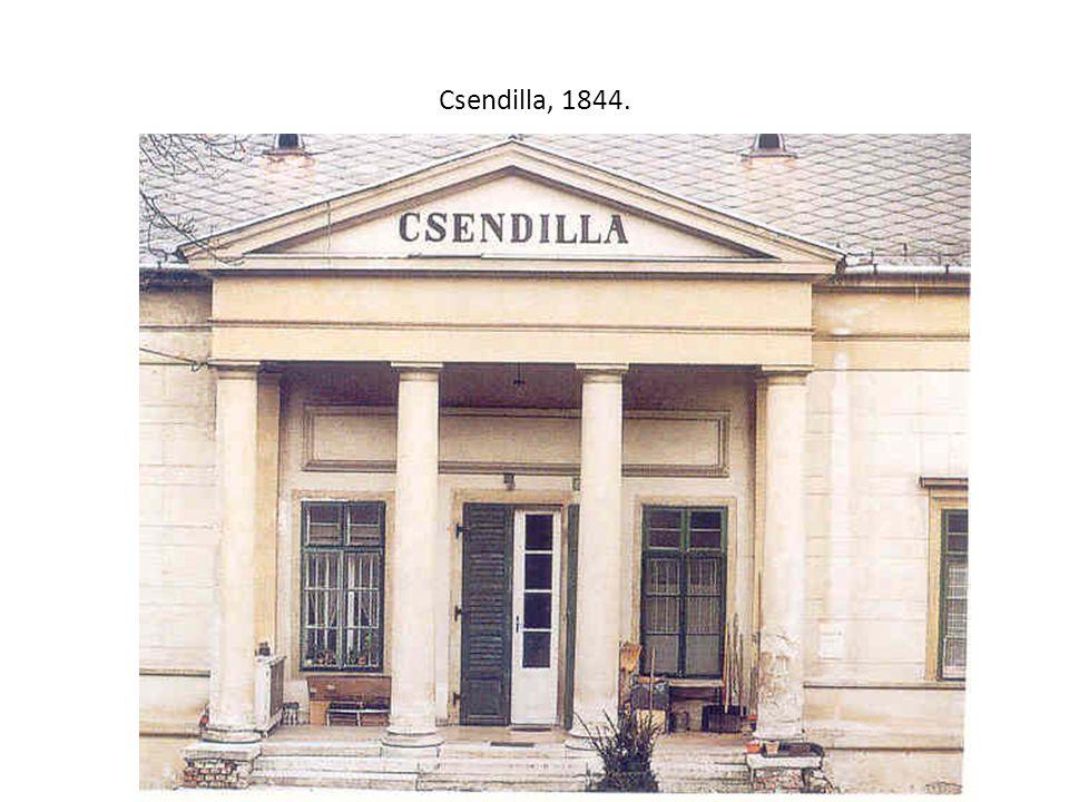 Csendilla, 1844.