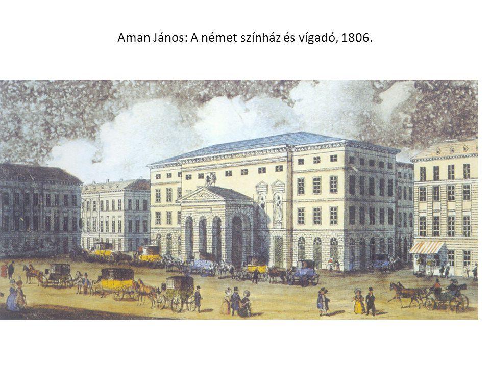 Aman János: A német színház és vígadó, 1806.