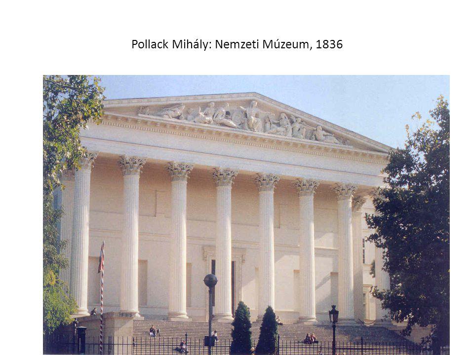 Pollack Mihály: Nemzeti Múzeum, 1836